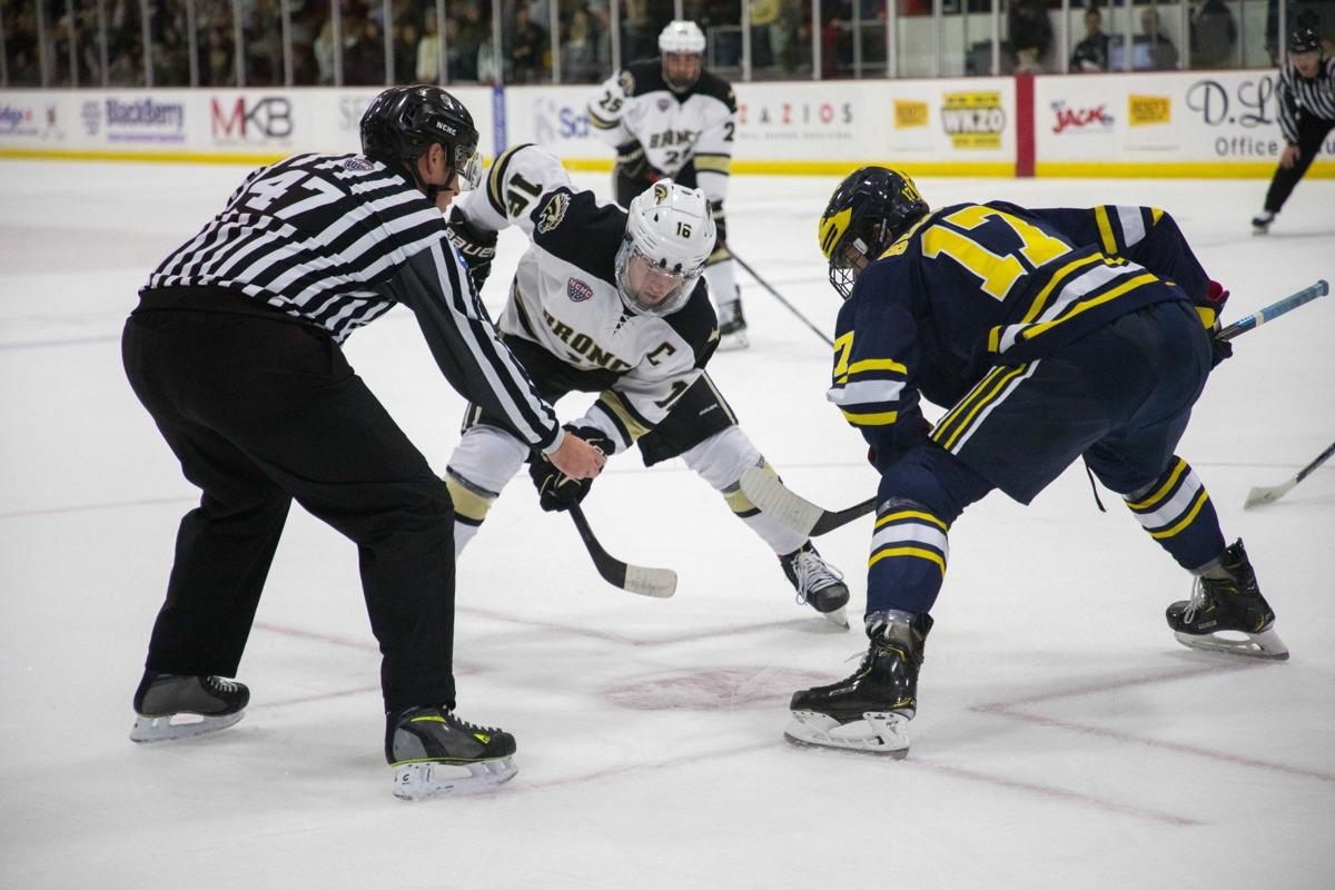 Hockey takes on rival Ferris State in non-conference action