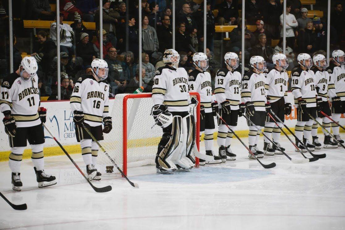 Hockey set for huge test against No. 3 North Dakota