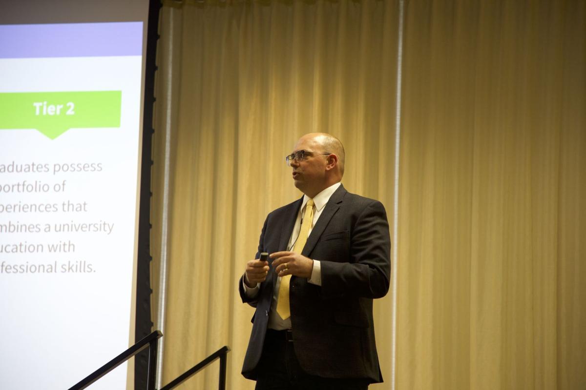 Tony Proudfoot, vice president of marketing and strategic communication