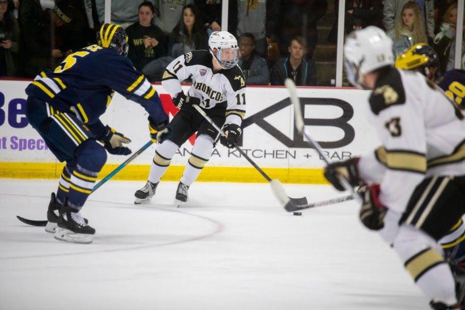 WMU Hockey Rhett Kingston