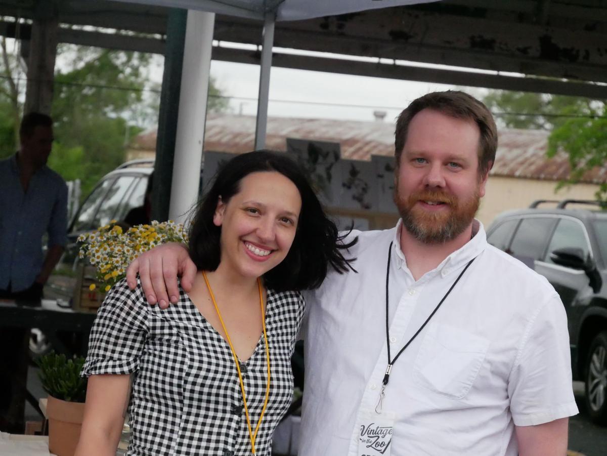 Vintage in The Zoo founders, Megan Zielke and Patrick Turner