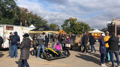 Alumni from across the state came to support WMU at Homecoming tailgate