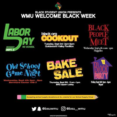 Black Student union set to host second annual Welcome Black Week