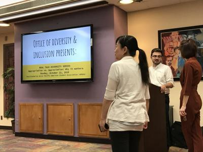 Office of Diversity and Inclusion raises awareness of cultural appreciation at Real Talk