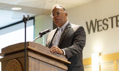 WMU President Dr. Montgomery.