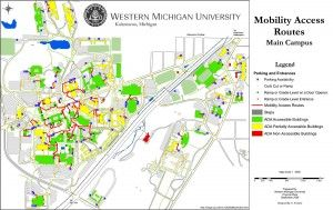 Wmu Graduate Student Updates Campus Mobility Map News