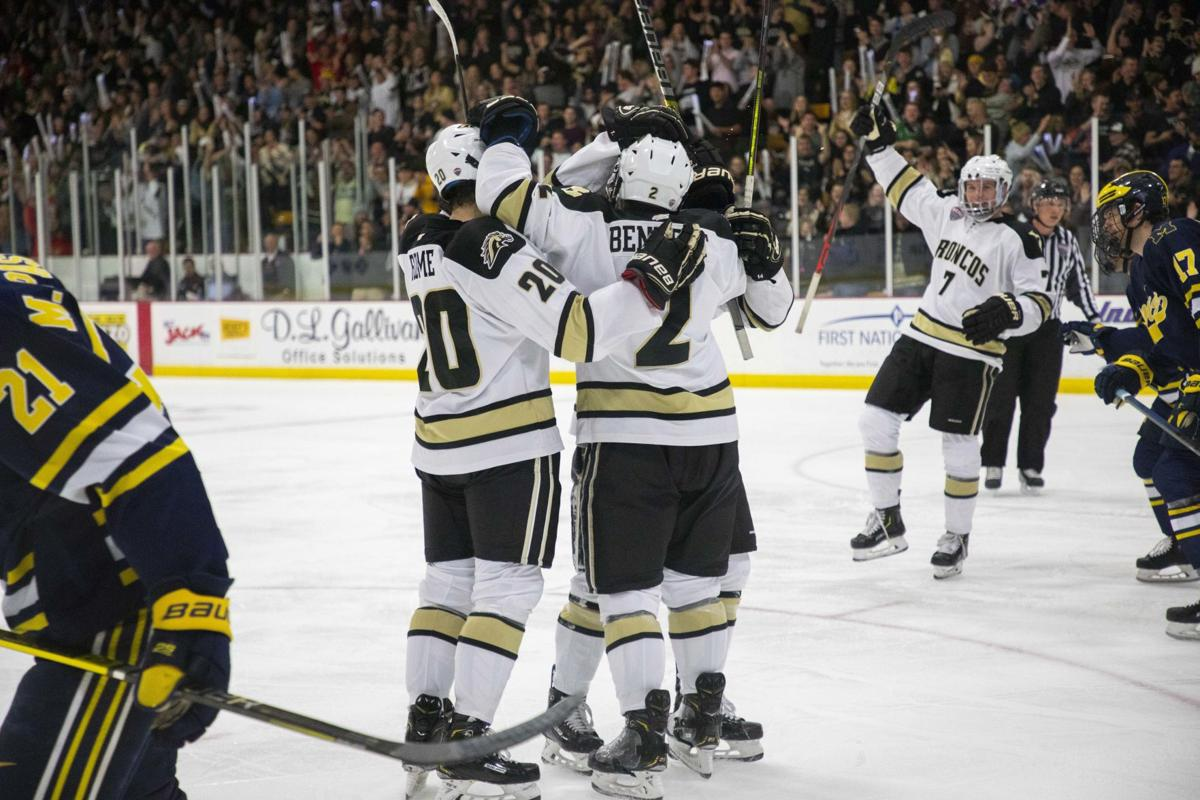 Hockey earns five points on the road against Colorado College