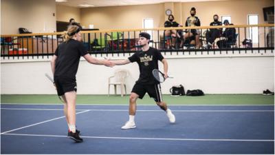 WMU Men's Tennis Opitz and Faveri
