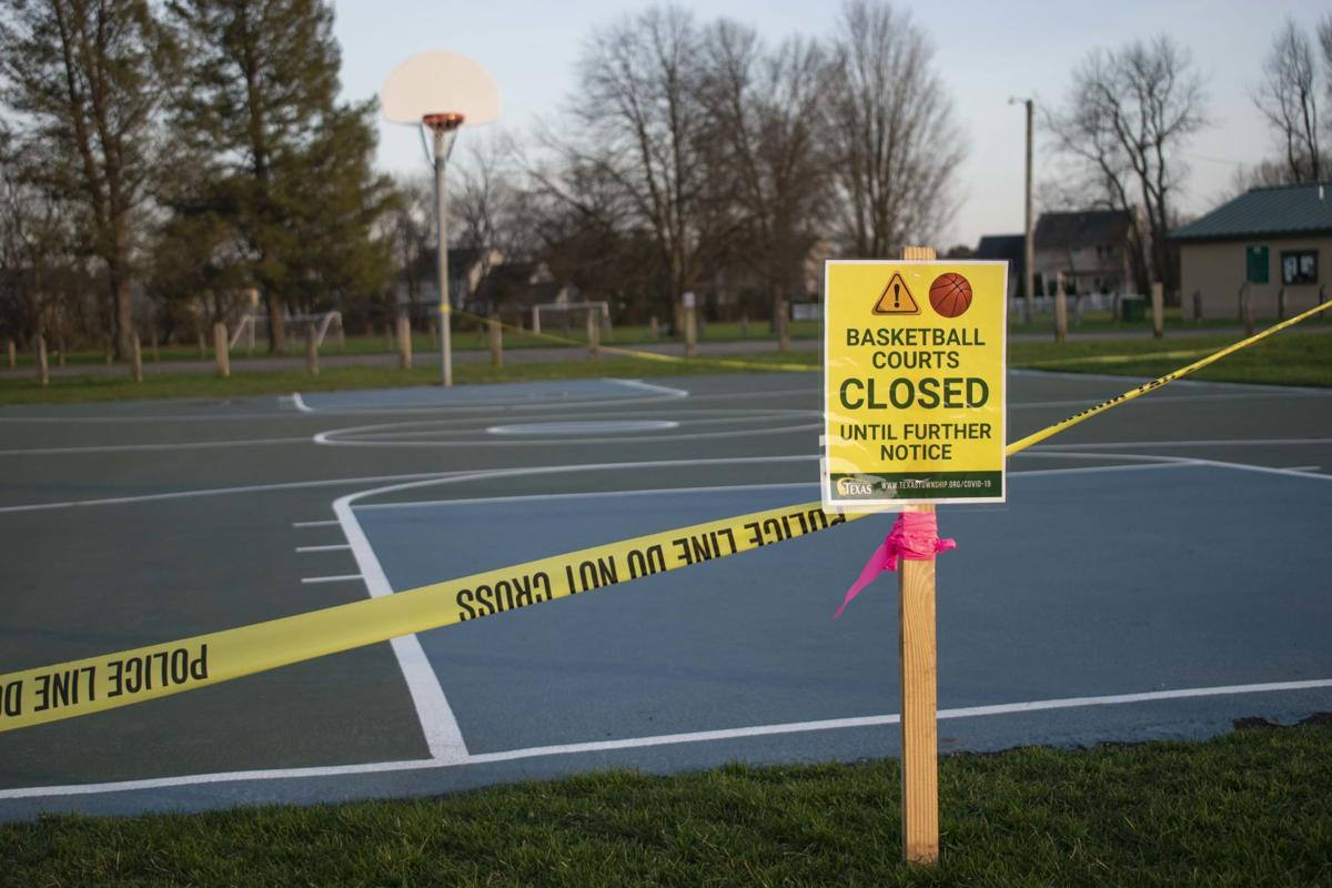 Recreational areas across Michigan closed to prevent people from gathering in places outside of their homes.