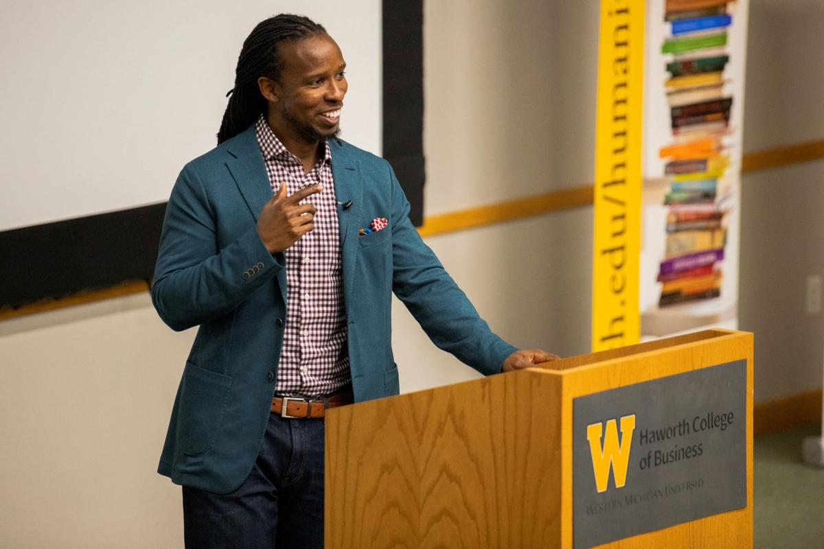 Award winning author packs Schneider Hall to share lessons on 'How to be an Antiracist'