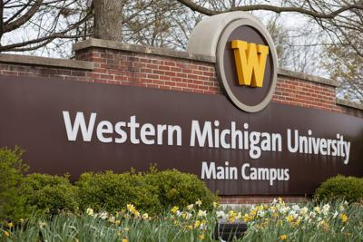 WMU Main Campus sign