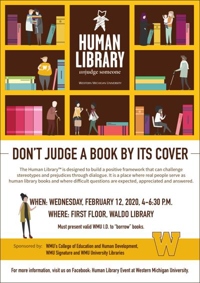 Human Library Books to come to Waldo Library in February
