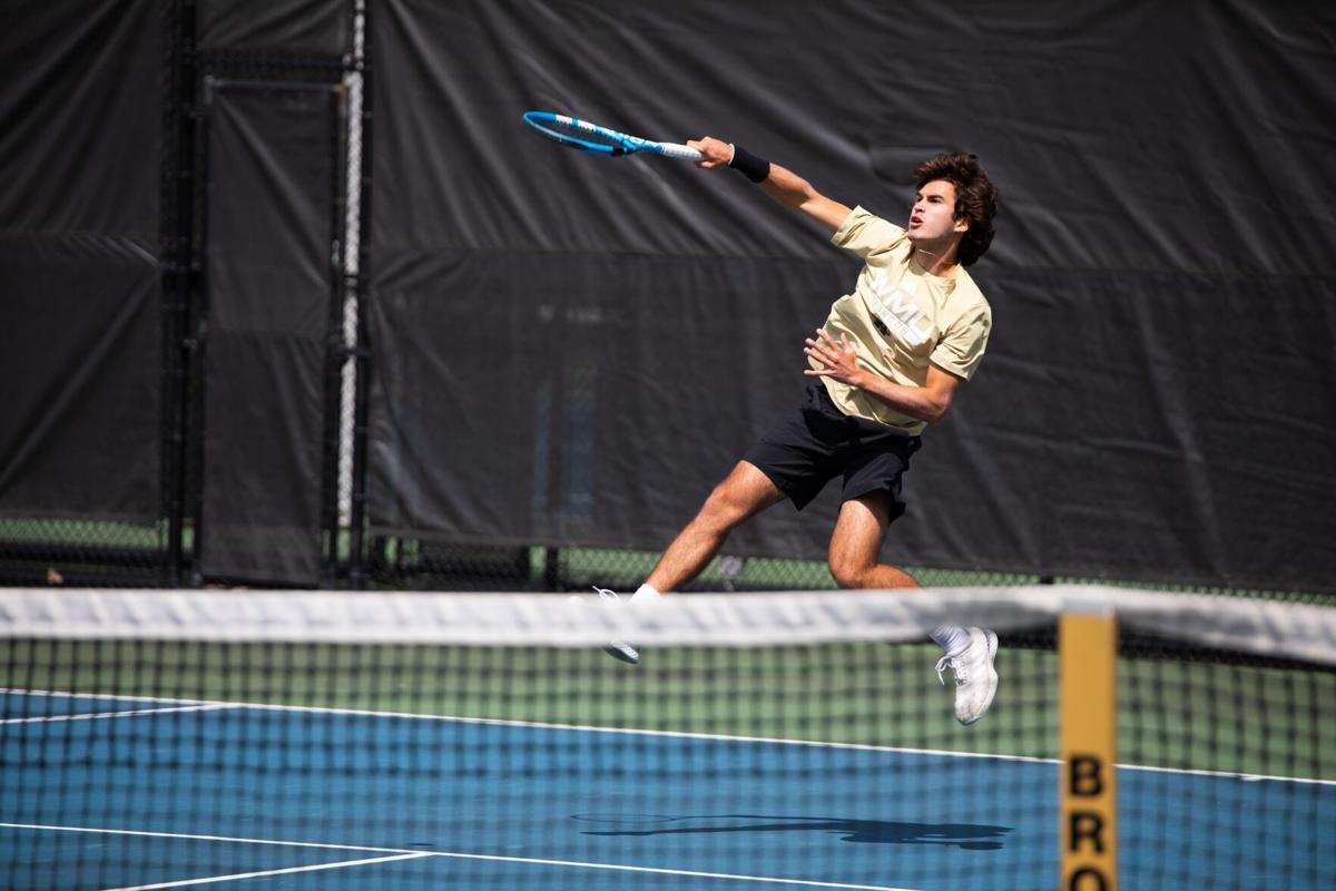 WMU Men's Tennis Joaquin Caballer