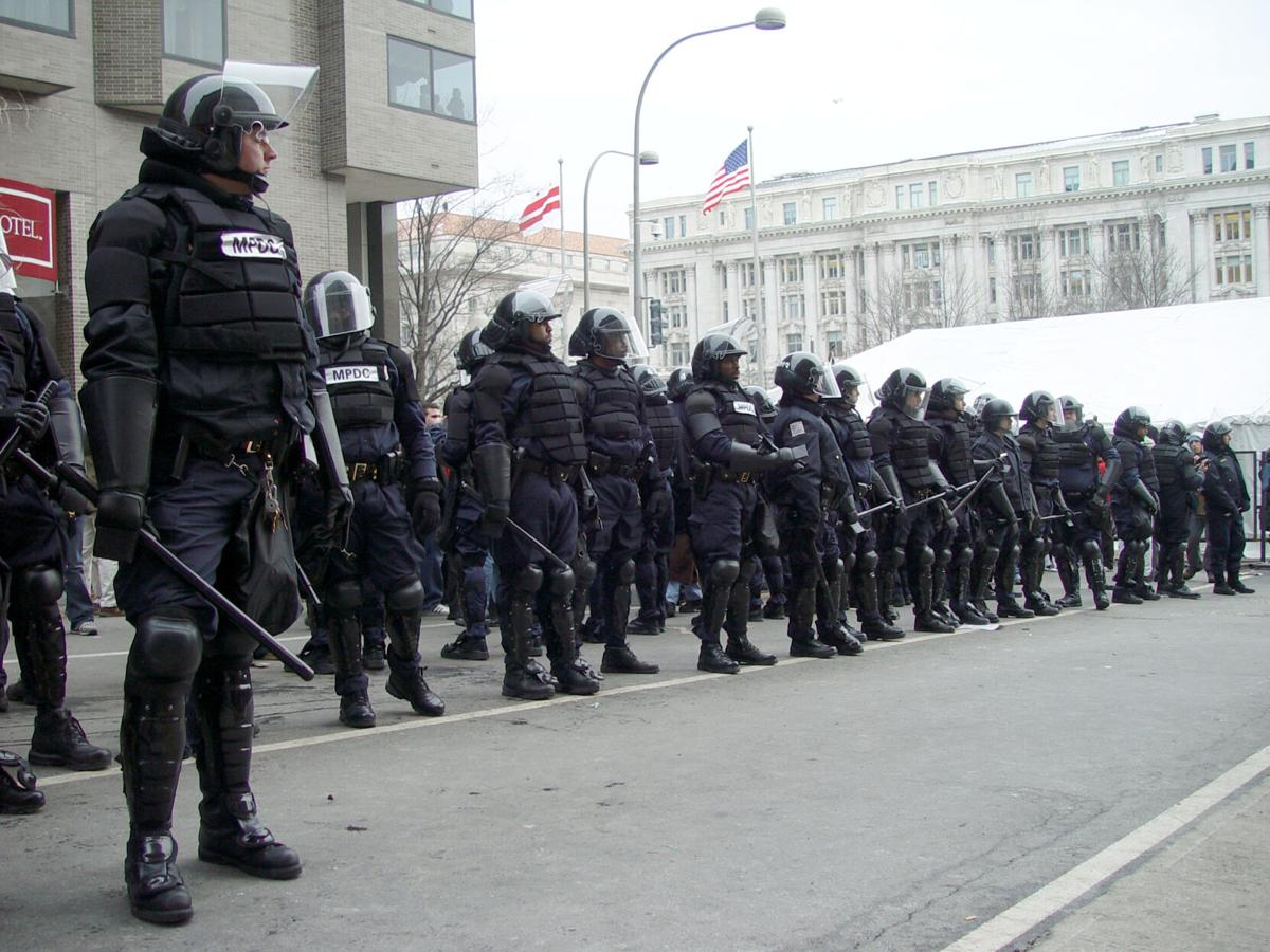 Riot Officers