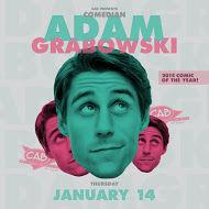 CAB hosting Adam Grabowski comedy show Jan. 14