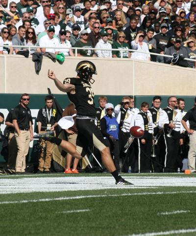 WMU's stand-out punter Derrick Mitchell was named third team All-MAC.