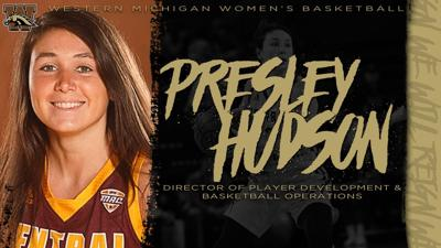 Presley Hudson WMU Women's Basketball