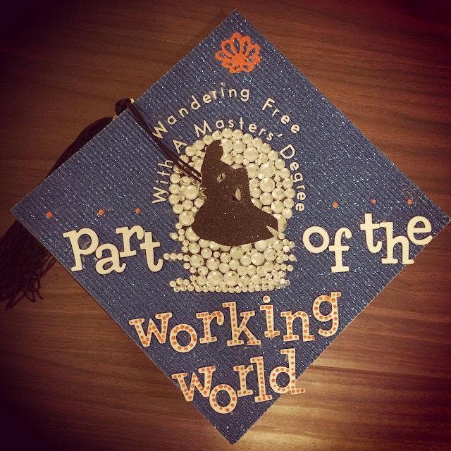 the little mermaid - Graduation Cap Decoration Ideas