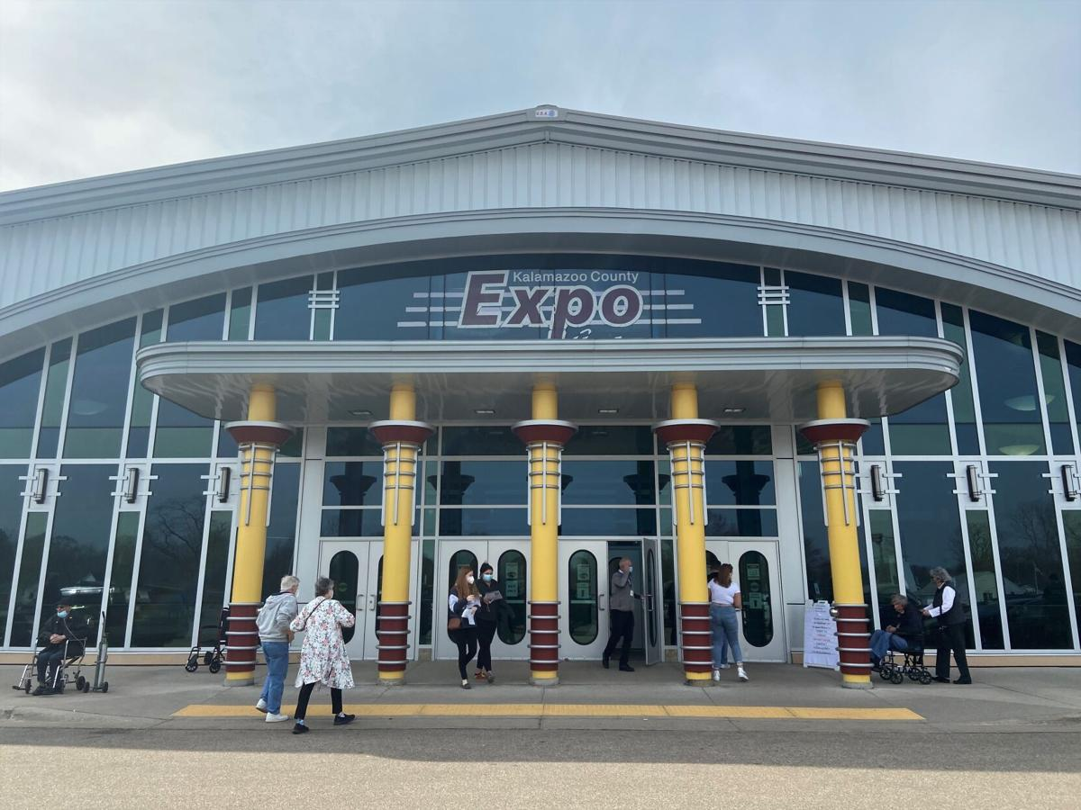 Vaccinations at the Expo Center