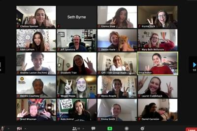 Students and faculty gathered virtually on Feb.27 to share thoughts on and advocate for sustainable practices.