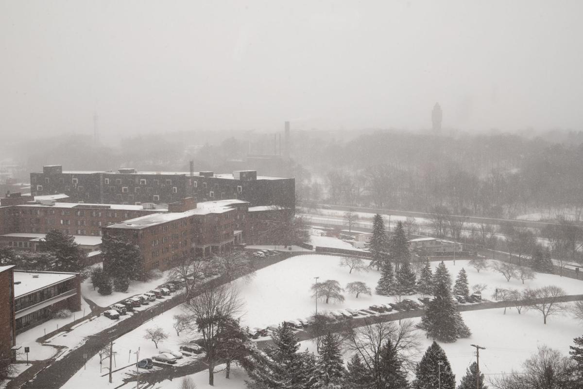 Broncos leave West Michigan winter for spring break travels