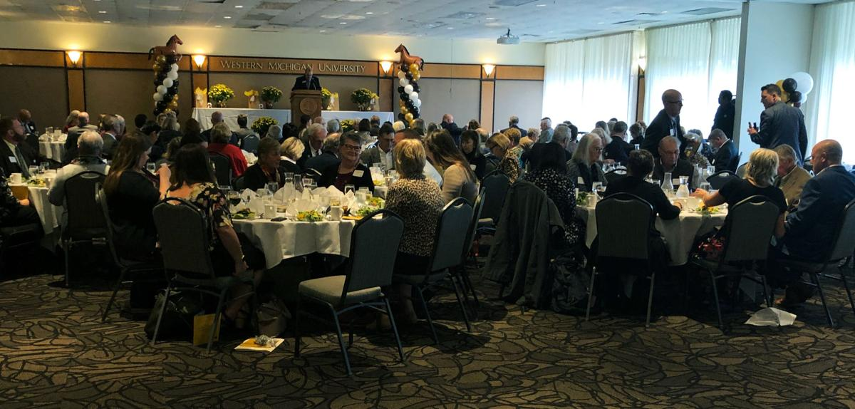 College of Education and Human Development presents 2019 Golden Apple awards