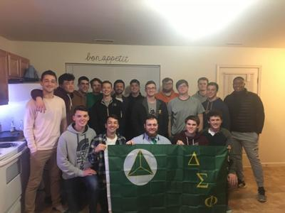 The WMU chapter of Delta Sigma Phi.