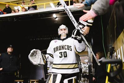WMU Hockey Brandon Bussi