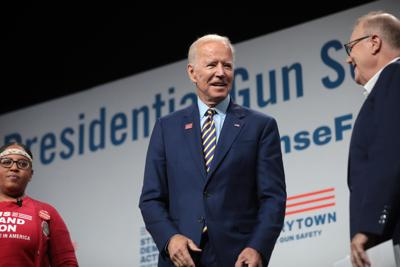 President-elect Joe Biden at a gun safety forum in 2019.
