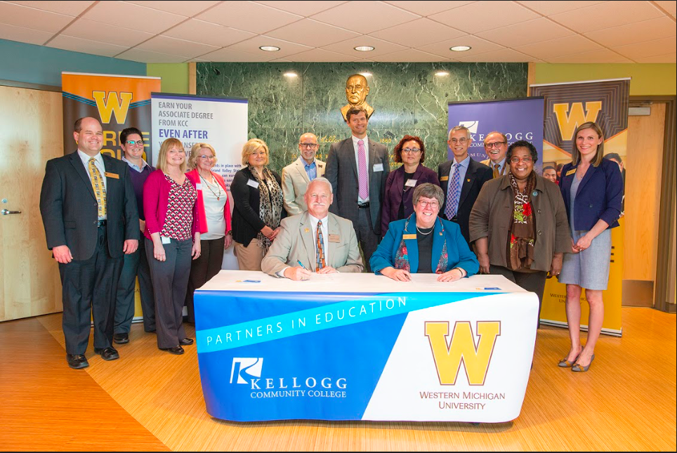 Wmu And Kcc Announce New Transfer Agreement News Westernherald