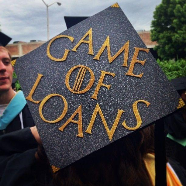 game of thrones - Graduation Caps Decorated