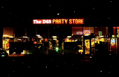 The Den Party Store