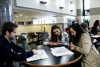 WMU policy students at work