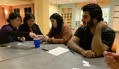 The CELCIS Conversation Circles help international students learn through talking