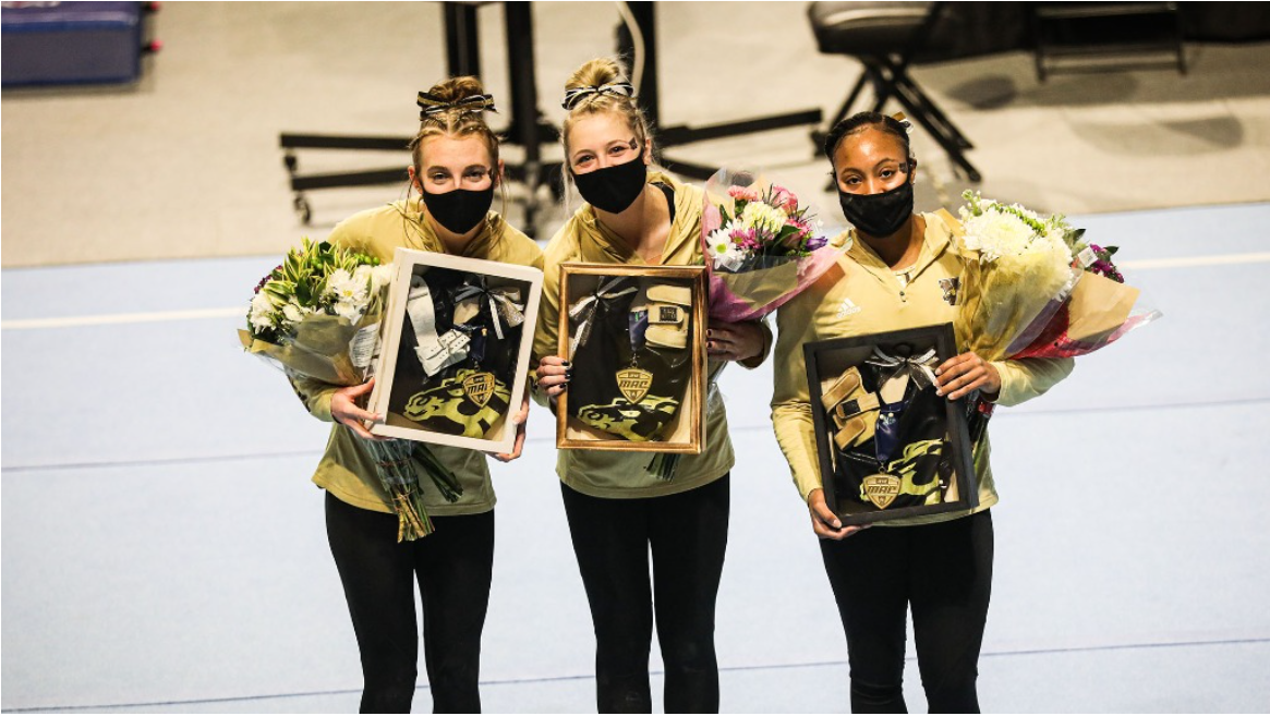 WMU Gymnastics senior day