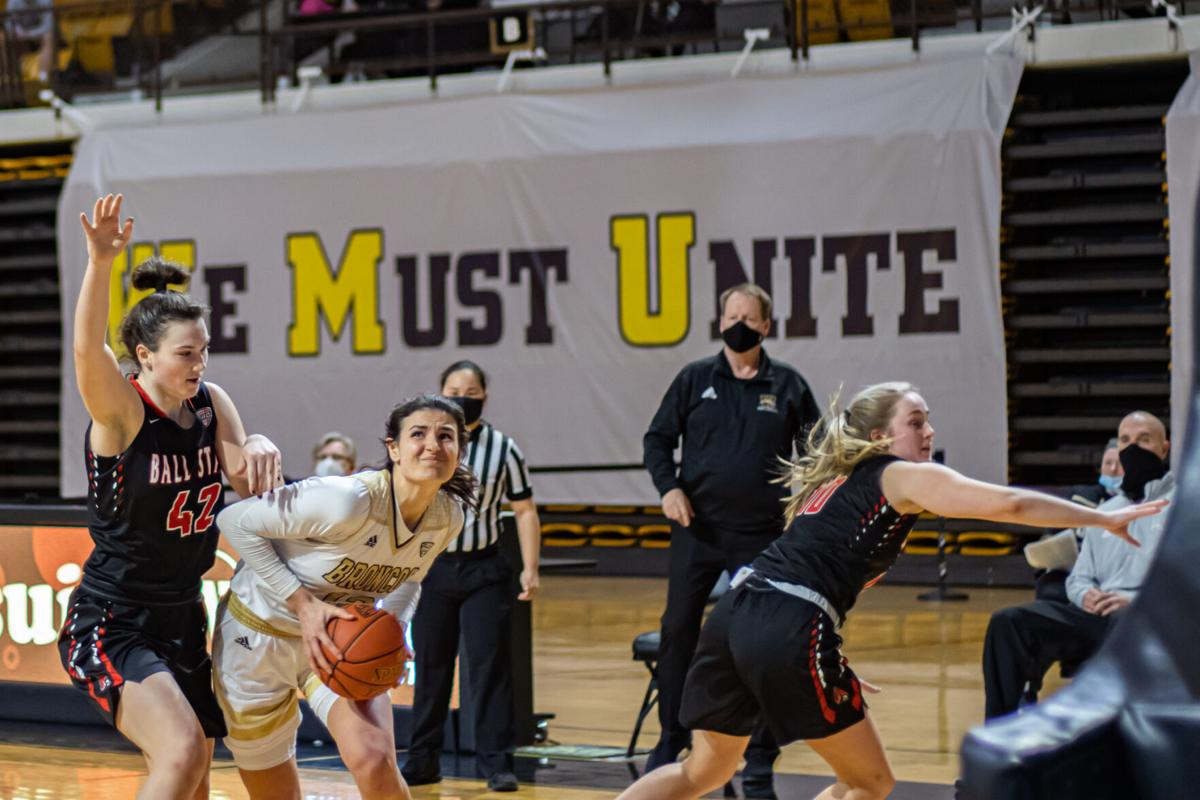 WMU Women's Basketball Reilly Jacobson