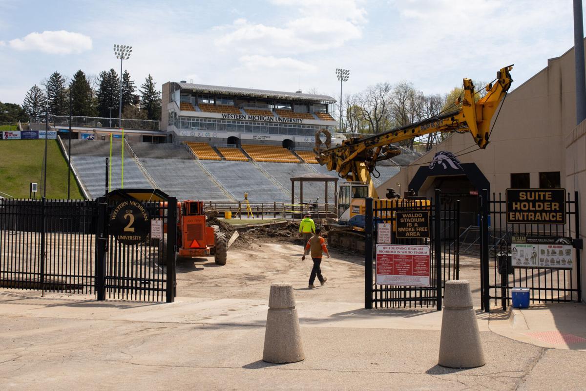 Waldo Stadium Construction