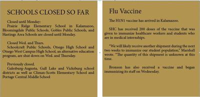 H1N1 closes schools, increases at WMU | News | westernherald com