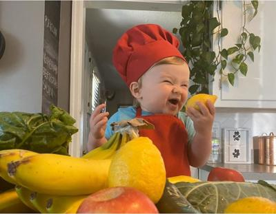 Meet the 1-year-old chef with 1.3 million followers on Instagram