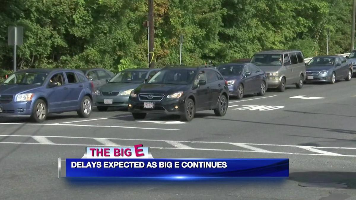 Heavy traffic seen as people head to Connecticut Day at The Big E
