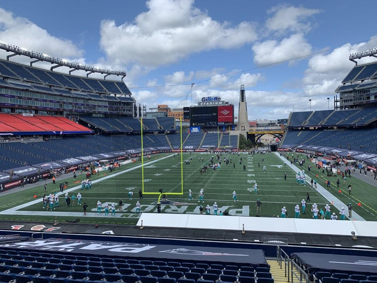 Patriots Dolphins Gillette field 091320