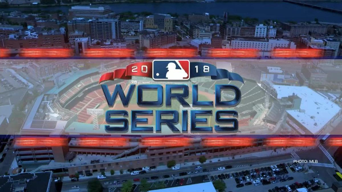 Red Sox take on the Los Angeles Dodgers tonight in game 1 of the World Series!