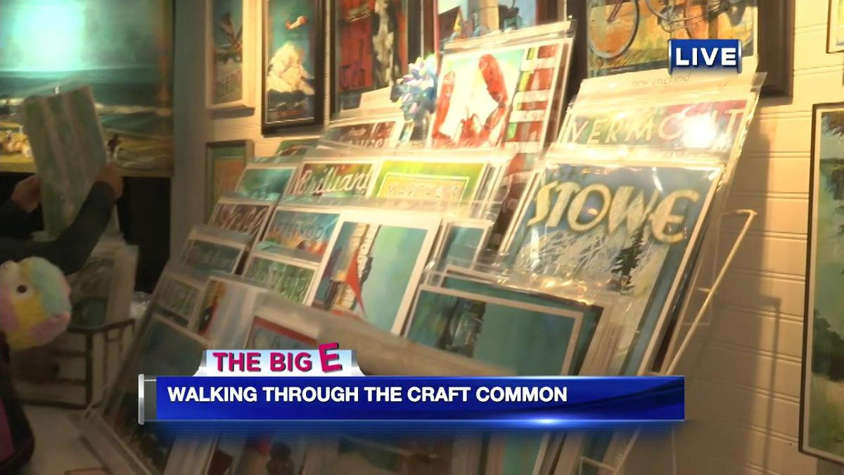 Jacob Wycoff takes us on a tour of the craft corner in Storrowtown Village