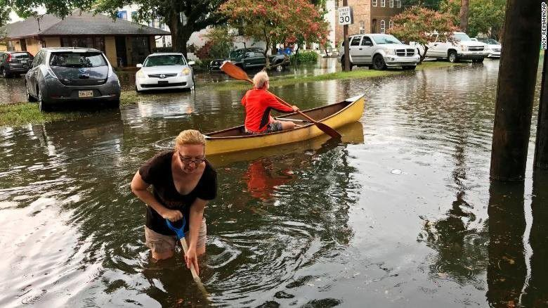 Tropical Storm Barry develops in the Gulf, threatening more epic flooding in Louisiana