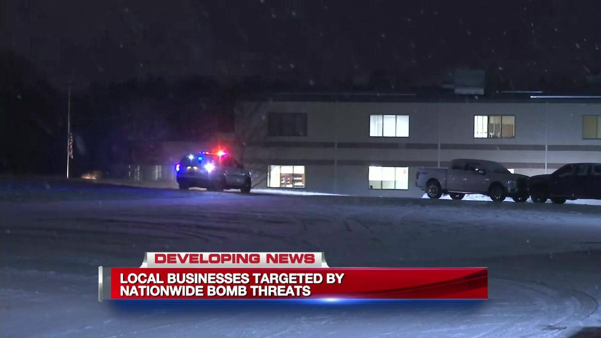 Local businesses targeted by nationwide bomb threats