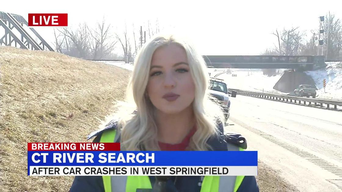 Search for man in CT River following car crash