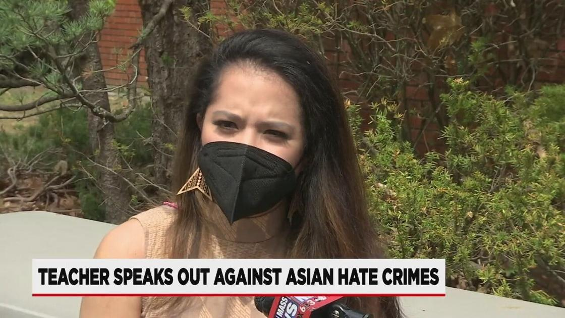 Springfield teacher speaking out against Asian hate crimes