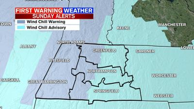 Wind Chill Warnings & Advisories for tonight-Monday