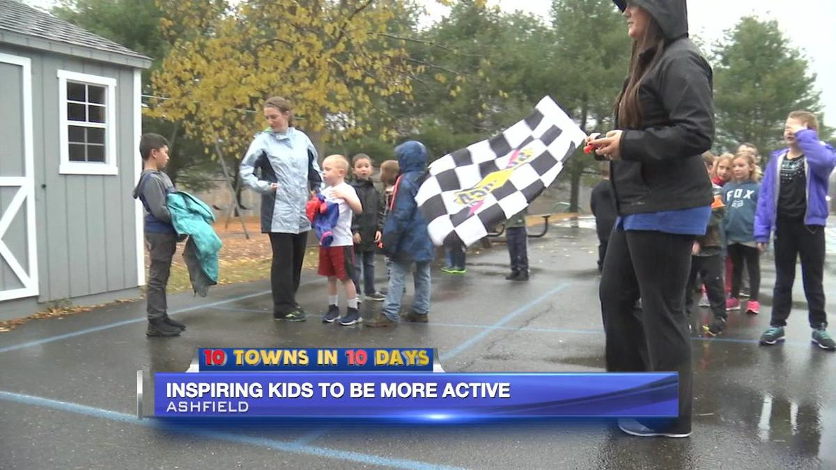 Ashfield school inspiring kids to be more active