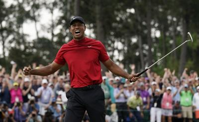 Masters Golf Tiger Woods